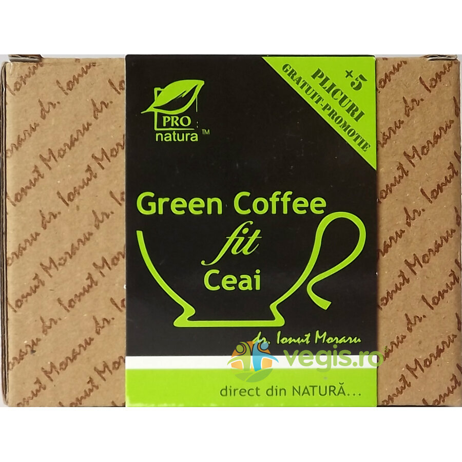 MEDICA Ceai Green Coffee Fit 25dz