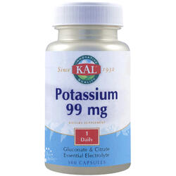 Potassium 99mg 100cps SECOM