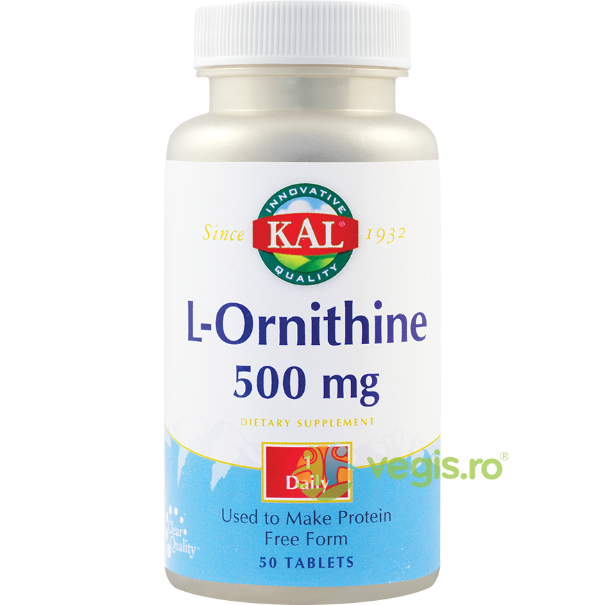 KAL L-Ornithine 500mg 50cpr