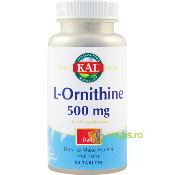 L-Ornithine 500mg 50cpr KAL