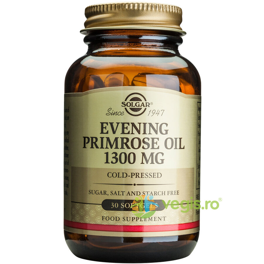 evening primrose oil 1300mg 30cps (ulei de luminita noptii)