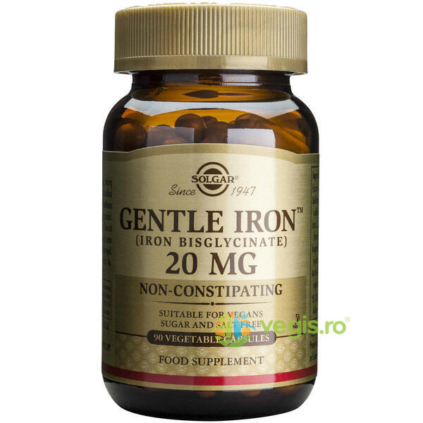 Gentle Iron (Fier) 20mg 90cps SOLGAR