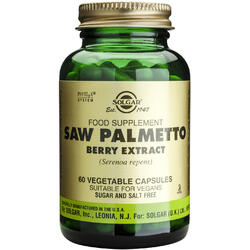 Saw Palmetto Berry Extract 60cps (Palmier pitic) - SOLGAR