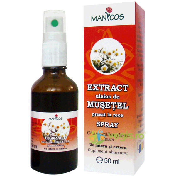 Extract Uleios De Musetel Spray 50ml MANICOS