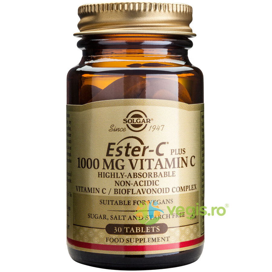 ester-c plus 1000mg 30tb (ascorbat de calciu)