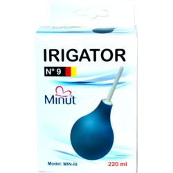 Minut Irigator rectal Nr.9 220ml VISION TRADE