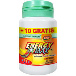 Energy Max 10cps+10cps Gratis COSMOPHARM