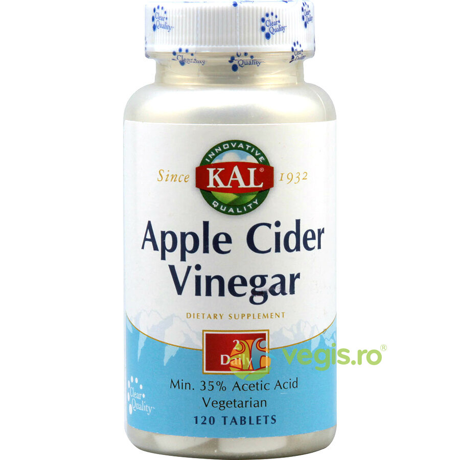 Apple Cider Vinegar (Otet din cidru de mere) 500mg 120cps