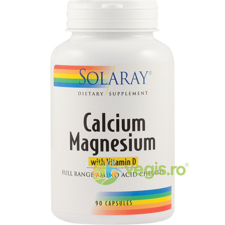 SECOM Calcium Magnezium With Vitamin D 90cps