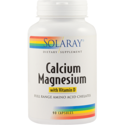 Calcium Magnezium With Vitamin D 90cps SECOM