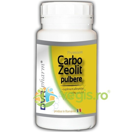 DVR PHARM Carbo Zeolit Pulbere 240gr