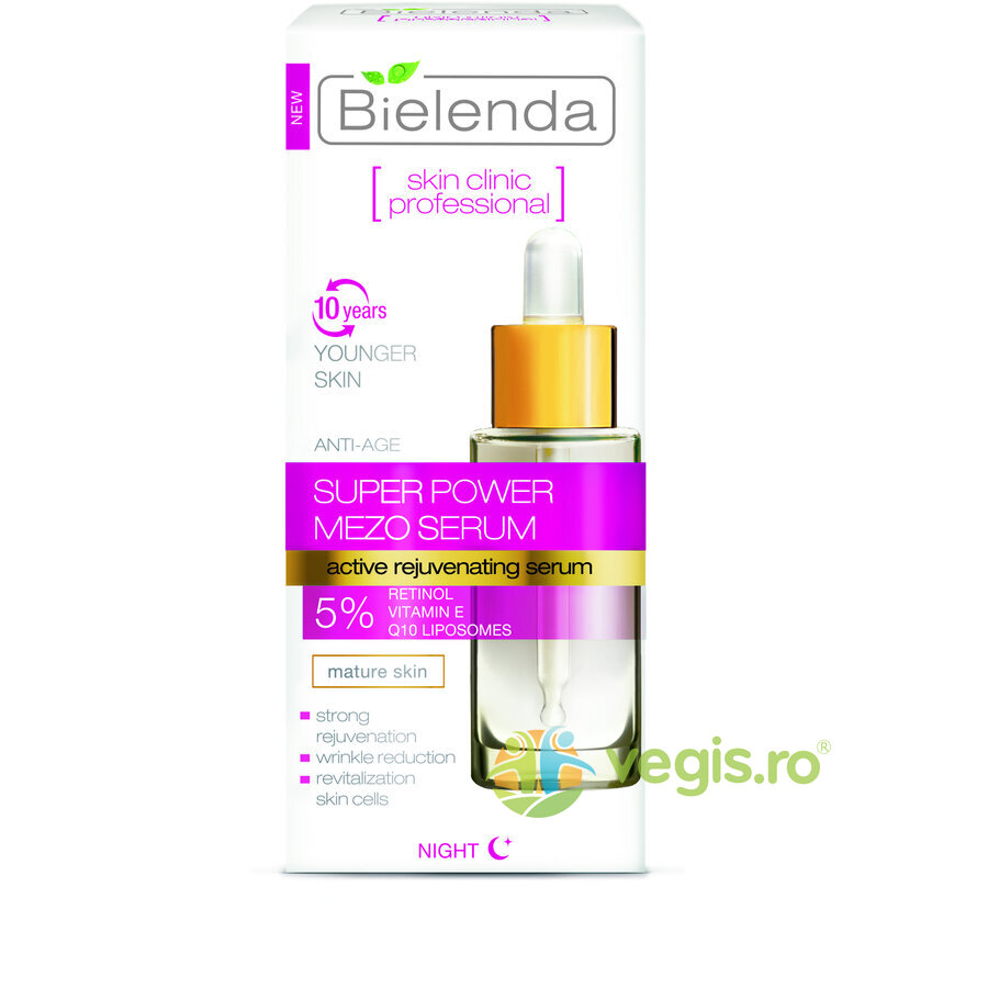 BIELENDA Ser Anti-Rid Intinerire Super Power Mezo Noapte 30ml
