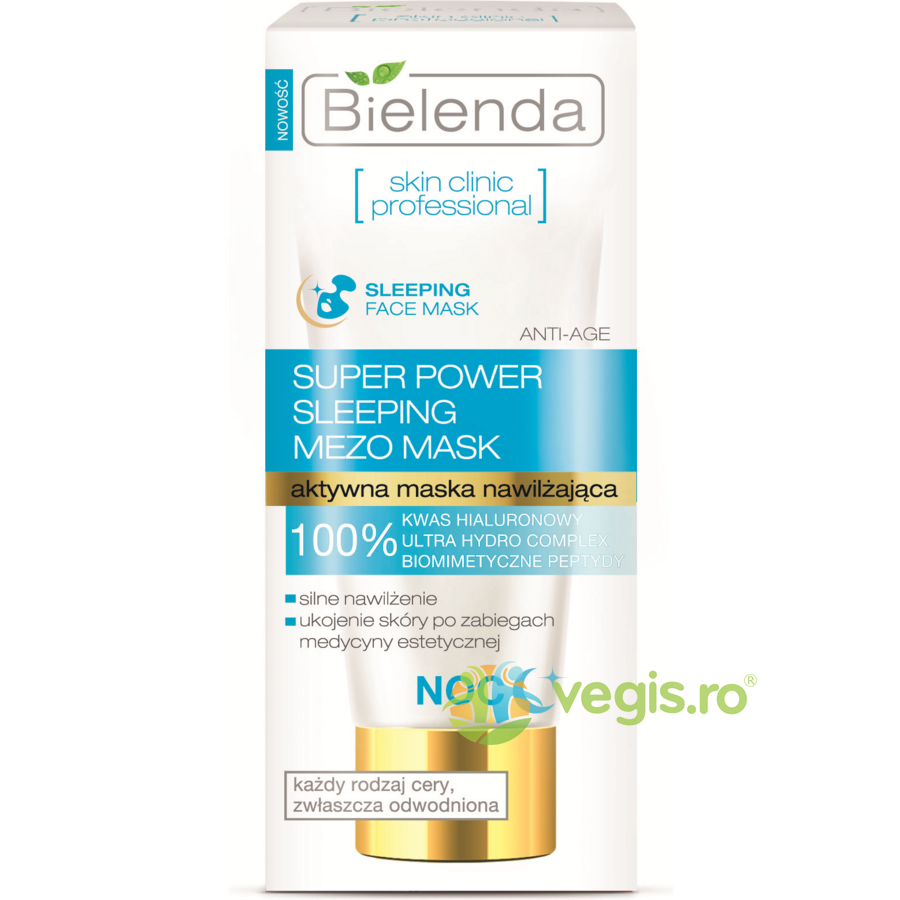 BIELENDA Masca Anti-Rid Hidratanta Noapte Super Power Mezo 50ml