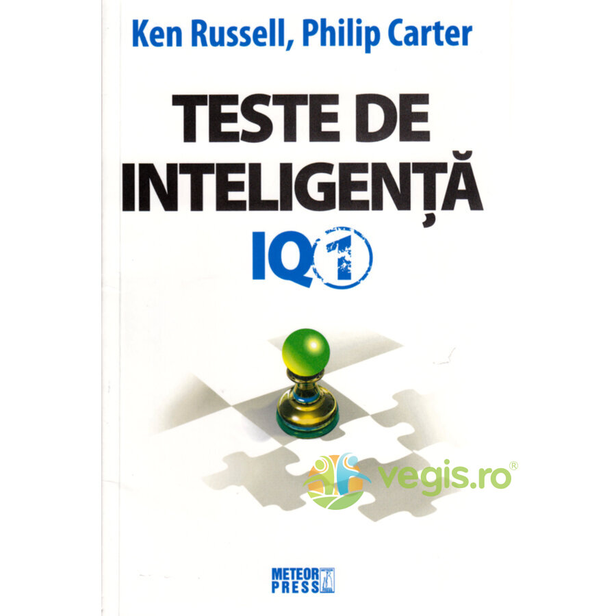 METEOR PRESS Teste de inteligenta IQ 1 – Ken Russell, Philip Carter