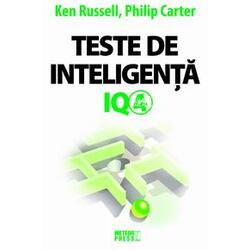 Teste de inteligenta IQ 4 - Ken Russell, Philip Carter METEOR PRESS