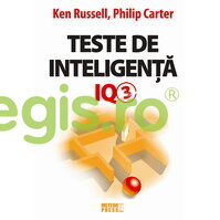 METEOR PRESS Teste de inteligenta IQ 3 – Ken Russell, Philip Carter