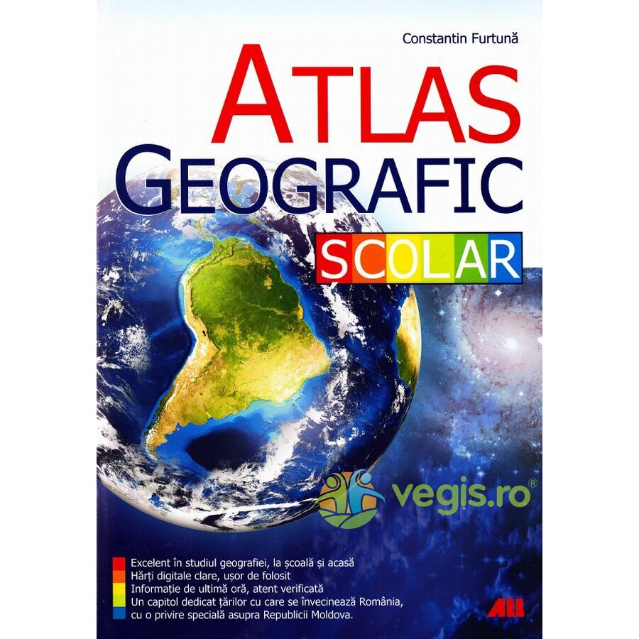 ALL Atlas geografic scolar – Constantin Furtuna