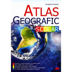 Atlas geografic scolar - Constantin Furtuna ALL
