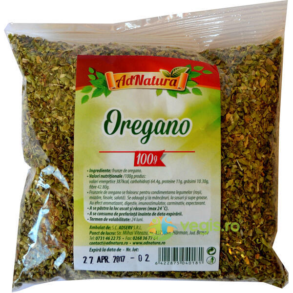 Oregano 100gr ADNATURA