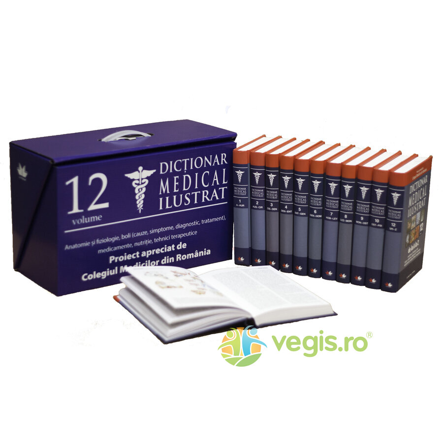 LITERA Dictionar medical ilustrat 12 volume