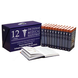 Dictionar medical ilustrat 12 volume LITERA