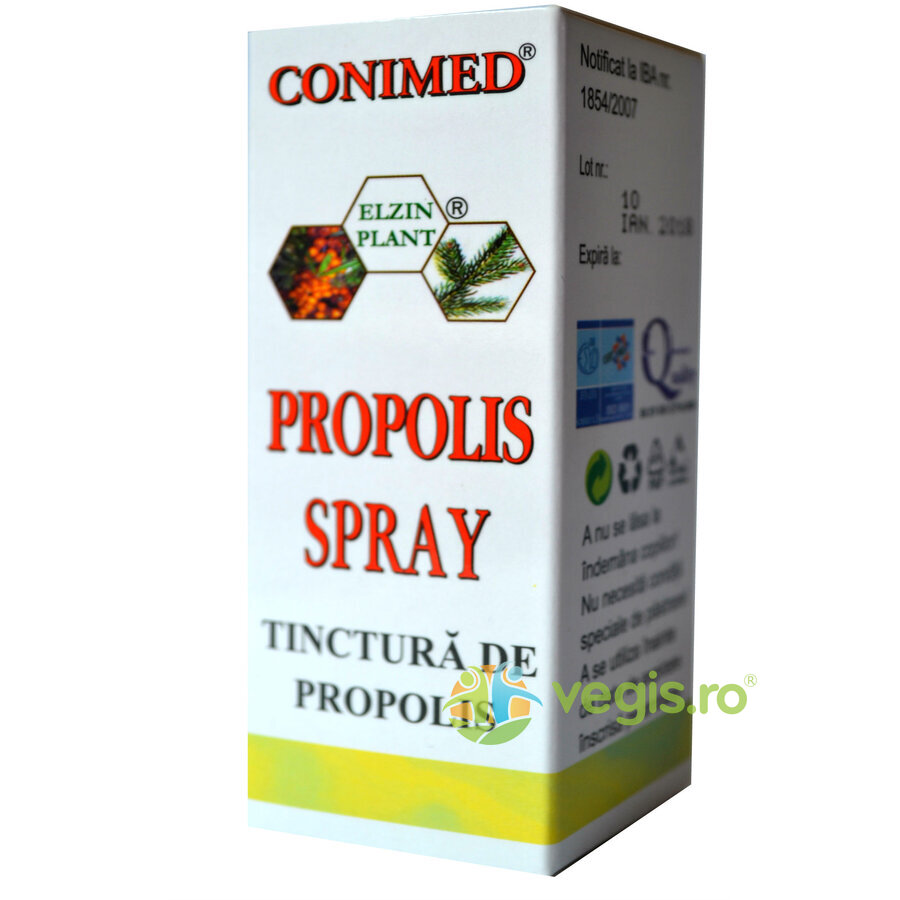 ELZIN PLANT Tinctura Propolis Spray 30ml
