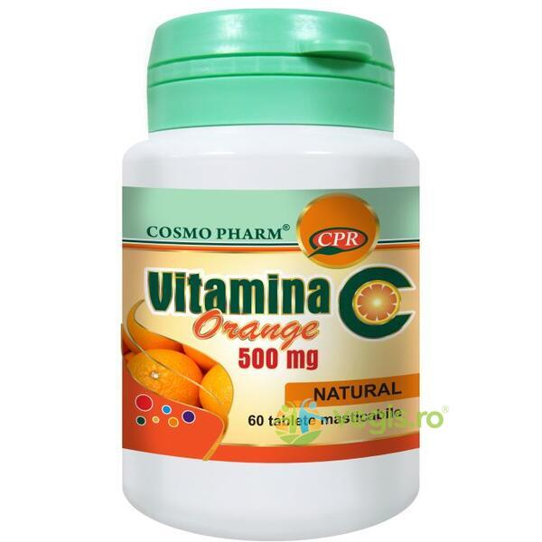 Vitamina C Portocale 500mg 60cpr COSMOPHARM