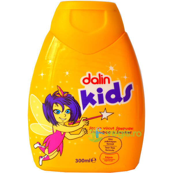 Sampon Cu Caise Kids 300ml DALIN