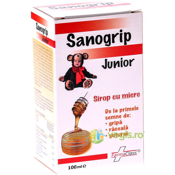 Sanogrip Junior 100ml FARMACLASS