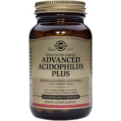 Advanced Acidophilus Plus 60cps Vegetale SOLGAR