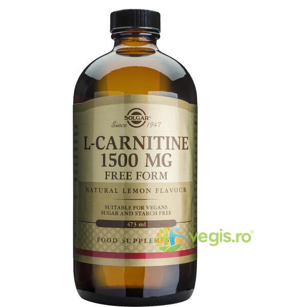 L-Carnitine 1500mg 473ml - SOLGAR