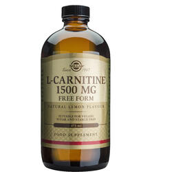 L-Carnitine (L-carnitina) 1500mg 473ml SOLGAR