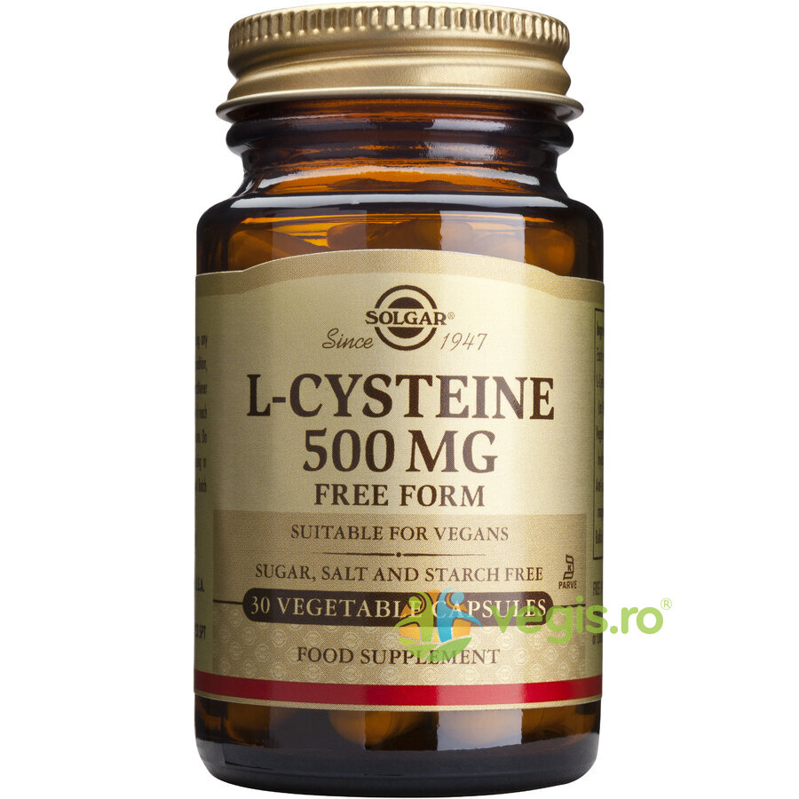 L-Cysteine (L-cisteina) 500mg 30cps Vegetale