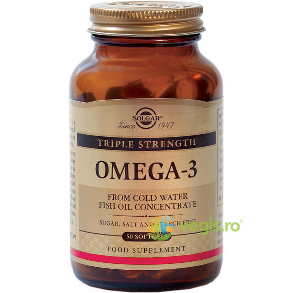 Omega-3 Triple Strength 50cps SOLGAR