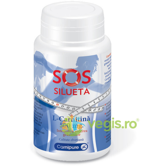 L-Carnitina SOS Silueta 500mg 60cps imagine produs 2021