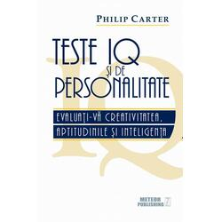 Teste Iq Si De Personalitate - Phlip Carter METEOR PRESS