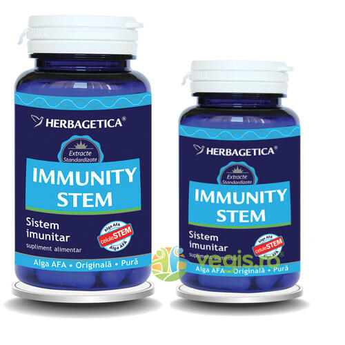 Immunity Stem 60cps+30cps Promo HERBAGETICA