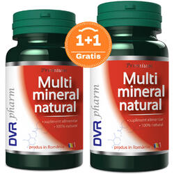 Multimineral Natural 60cps+30cps Gratis DVR PHARM
