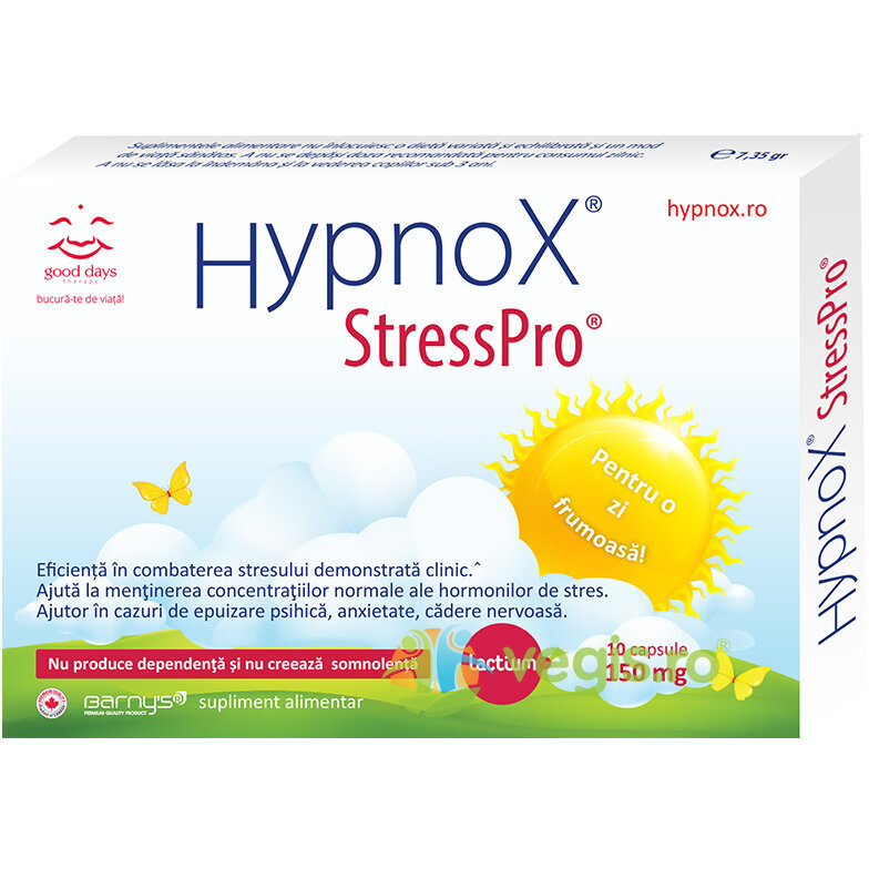 GOOD DAYS THERAPY Barnys Hypnox Stresspro 30cps