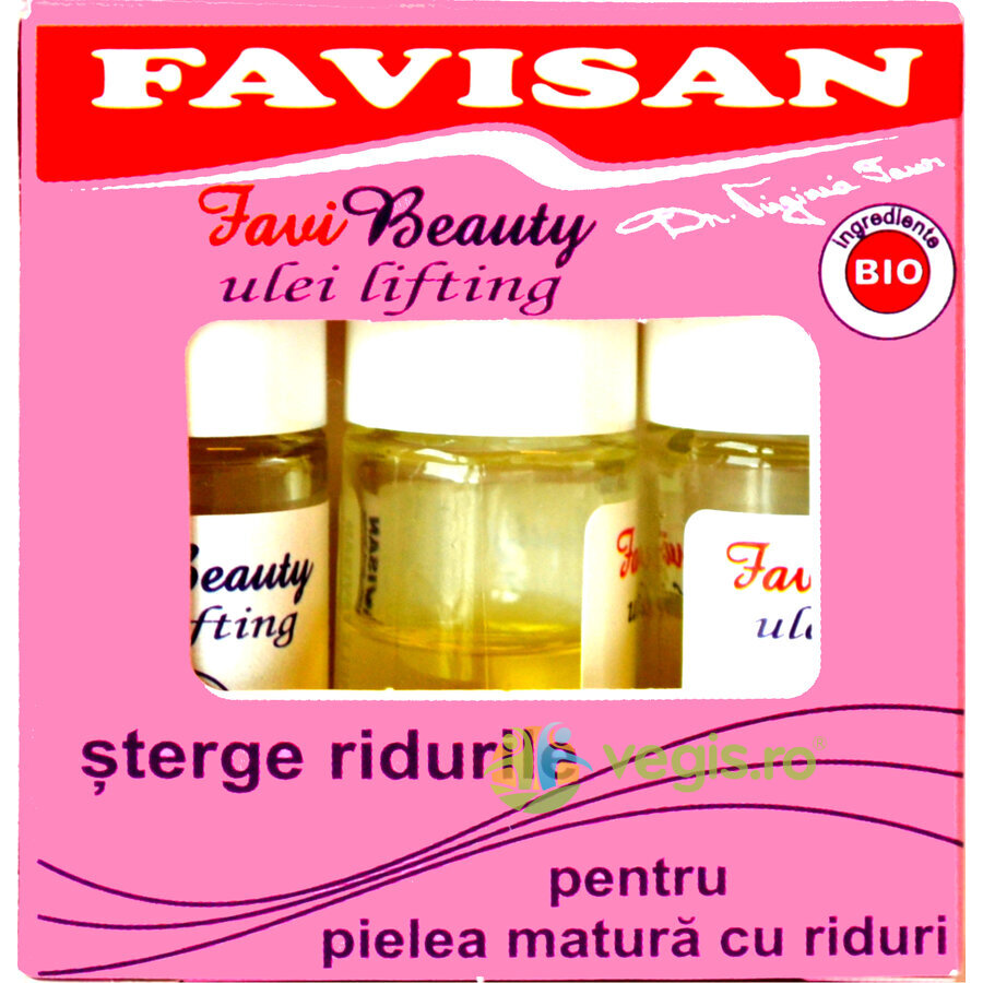 FAVISAN Ulei Lifting 3buc X 3ml