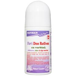 Deo Roll-On Cu Verbina 50ml FAVISAN