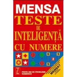 Mensa. Teste de inteligenta cu numere METEOR PRESS