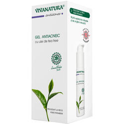 Gel Antiacneic Cu Ulei De Tea Tree 50ml VIVA NATURA