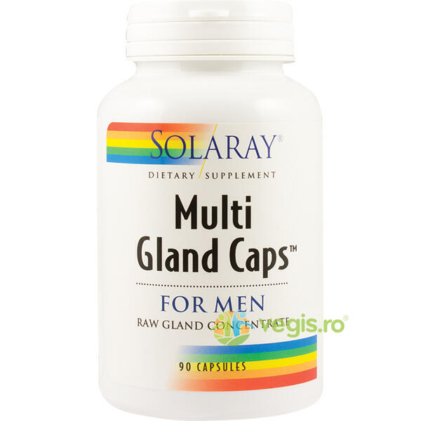 Multi Gland Caps For Men 90cps SOLARAY