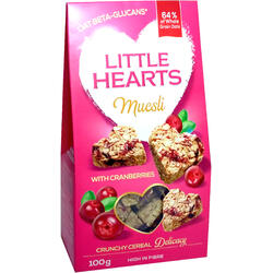 Musli Cu Merisor Little Hearts 100g