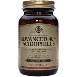 Advanced 40+ Acidophilus(Probiotice) 60cps Vegetale SOLGAR