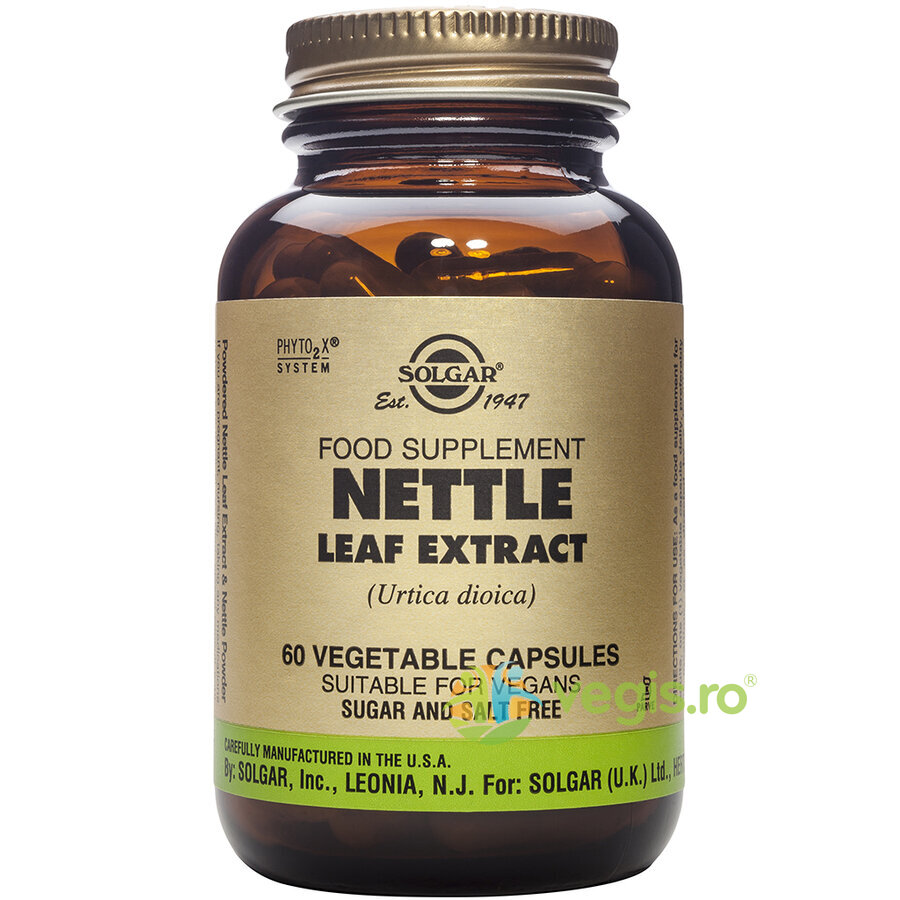 Nettle Leaf (Urzica) Extract 60cps Vegetale