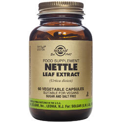 Nettle Leaf Extract 60cps Vegetale - SOLGAR