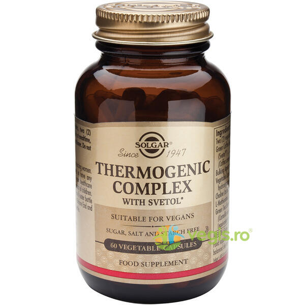 Thermogenic Complex 60cps Vegetale SOLGAR