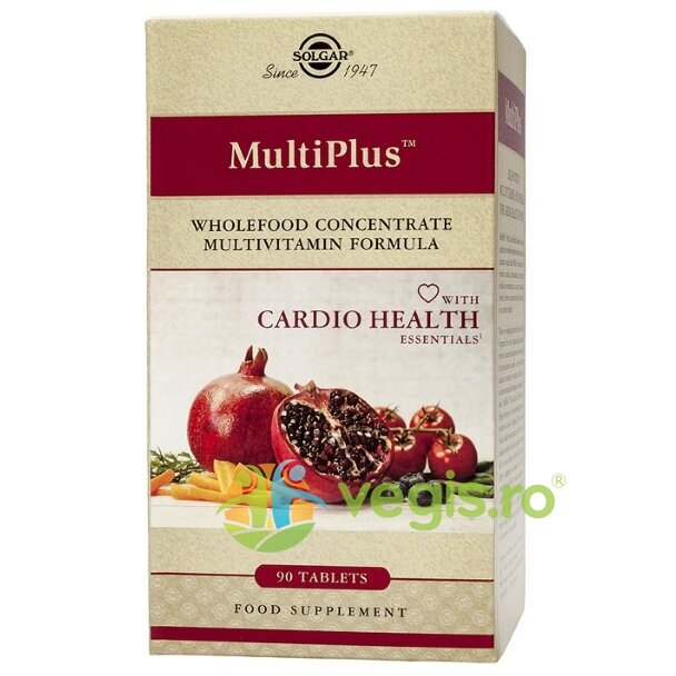 Multi Plus Cardio 90tb – SOLGAR